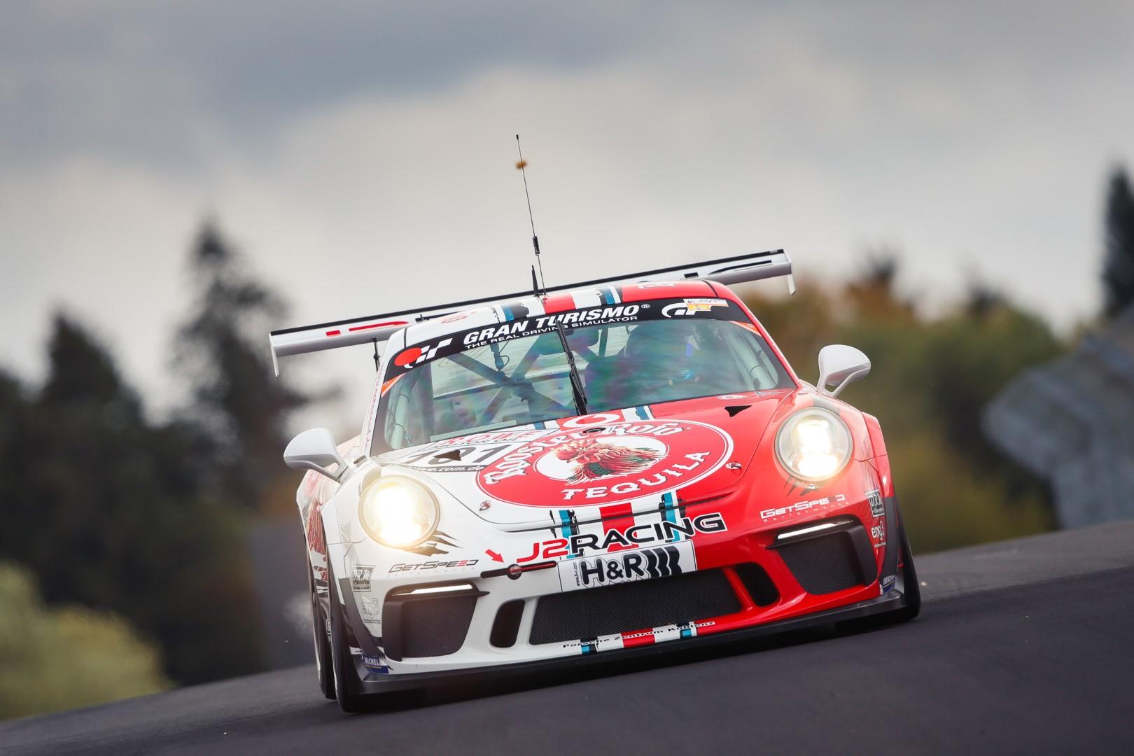 VLN 7. Lauf 2018, Nürburgring-Nordschleife - Foto: Gruppe C Photography; #101 Porsche 911 GT3 Cup, GIGASPEED Team GetSpeed Performance: John Shoffner, Janine Hill, Fabian Schiller