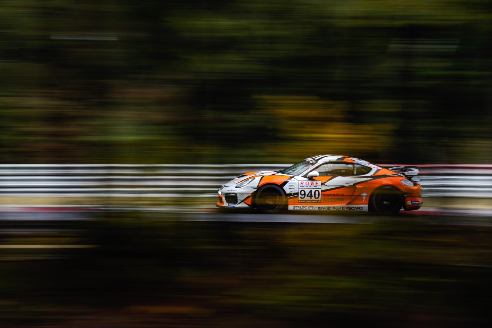 VLN 7. Lauf 2018, Nürburgring-Nordschleife - Foto: Gruppe C Photography; #940 Porsche Cayman GT4 CS, GIGASPEED Team GetSpeed Performance: Max, Jens