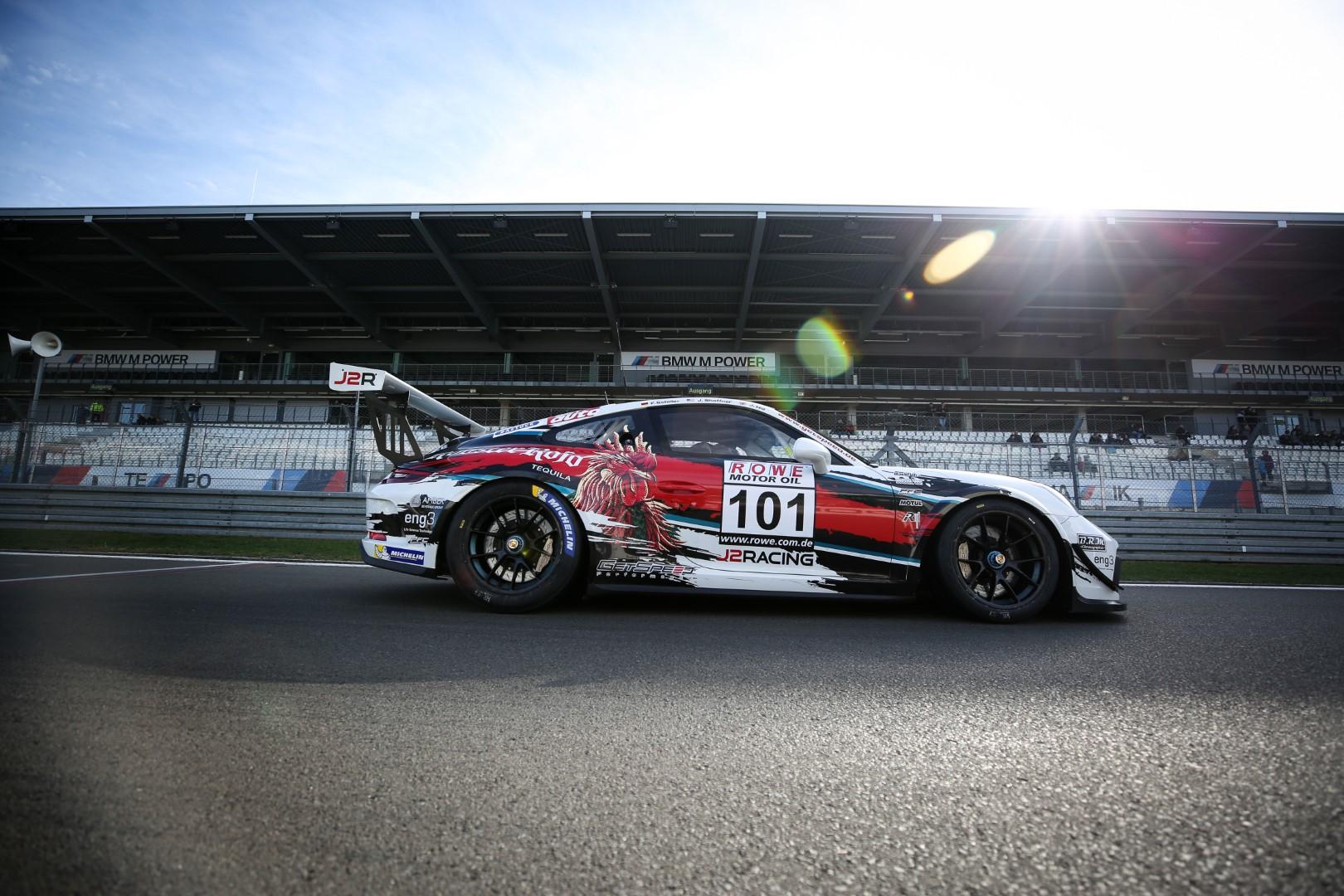 VLN 9. Lauf 2018, Nürburgring-Nordschleife - Foto: Gruppe C Photography; #101 Porsche 911 GT3 Cup, GetSpeed Performance: John Shoffner, Janine Hill, Fabian Schiller